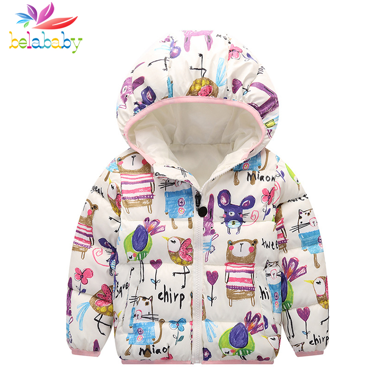 f47f057b1 aliexpress.com - Belababy Baby Girls Coat Winter New Cute Children ...