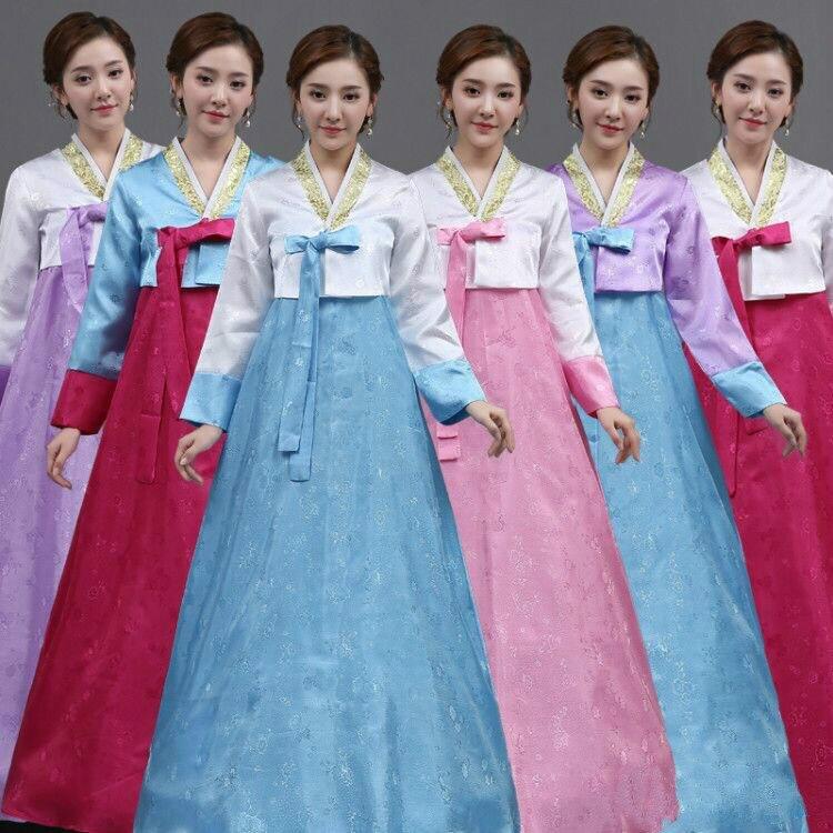 00e98e1c69d Новое поступление Осенняя женская обувь элегантный корейский традиционный  костюм женский с длинными рукавами Азиатский Стиль сцене