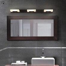 Makeup Led Mirror Light Cabinet Wall Lamp Fashion Waterproof Fog Moisture-proof Bathroom Toilet Bedroom Simple Modern Decor Art недорого