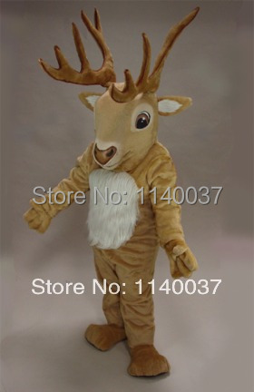 mascot DEER Reindeer MOOSE Mascot Costume custom fancy costume anime cosplay mascotte theme fancy dress carnival costume