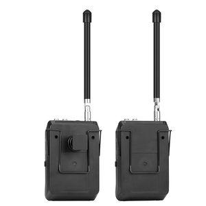 Image 2 - BOYA BY WFM12 VHF מיקרופון אלחוטי מערכת דש Lavalier מיקרופון עבור iPhone 8 7 בתוספת Smartphone DSLR מצלמה וידאו חי הקלטה