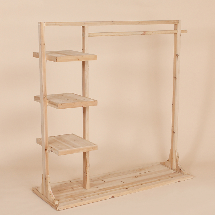 The Childrens Clothing Store Clothing Racks Shelf Solid Wood Floor