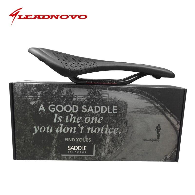Haute qualité selle vélo de route en cuir carbone selle croix grain complet En Fiber De Carbone Vélo coussin Vélo Siège super lumière arione