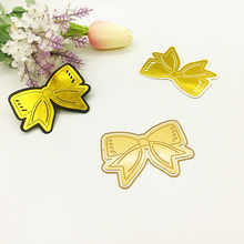 Julyarts Hot Foil Plate Bow Tie Flower Metal Cutting Die For Scrapbooking Stencils Stamping Photo Album Card Cut Craft