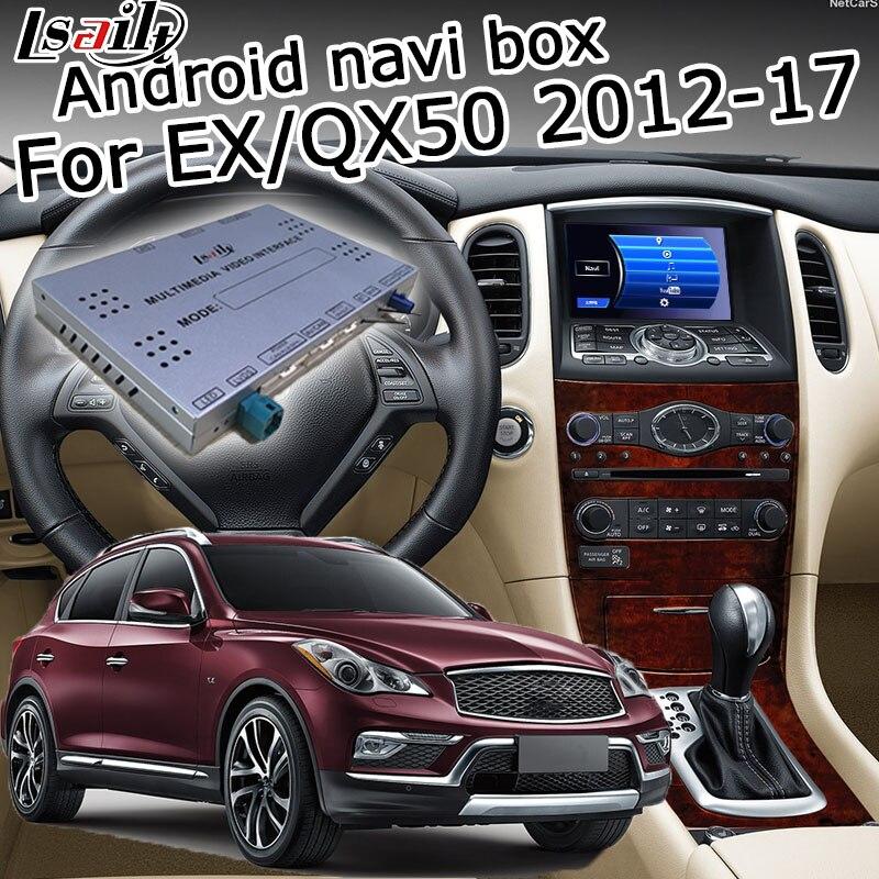 2012 Infiniti Qx60: Lsailt Android GPS Navigation Box For Infiniti QX50 / EX