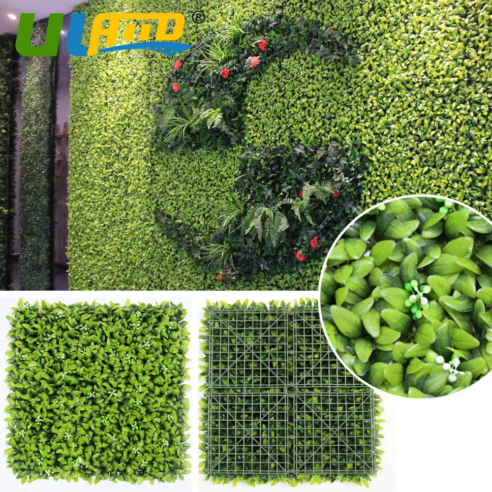 Uland Artificial Boxwood Wreath 3 Sqm Faux Ivy Privacy