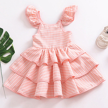birthday dress for 2 year girl Vintage Backless Baby