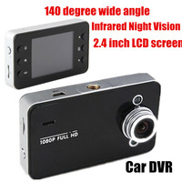 140 Degree Wide Angle Best Selling 2 4 Inch LCD Car DVR High Quality Camera Video