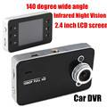 140 degree wide angle Best selling 2.4 inch LCD Car DVR High Quality Camera Video Durable Recorder Superior G-sensor
