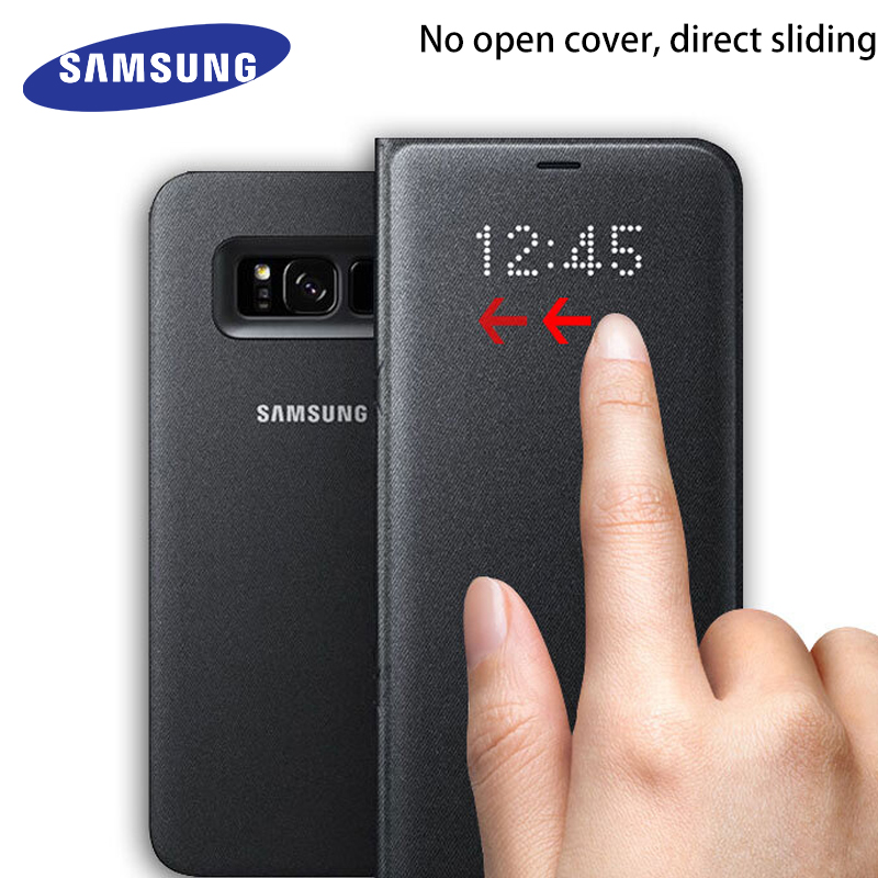 galaxy s8 plus led cover