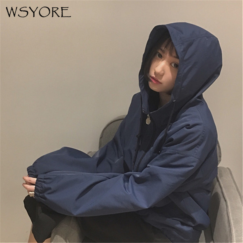 WSYORE Harajuku Jacket Loose Coat Women Baseball Uniform Female Plus Size 2018 New Spring Korean Students Wild Jackets NS033