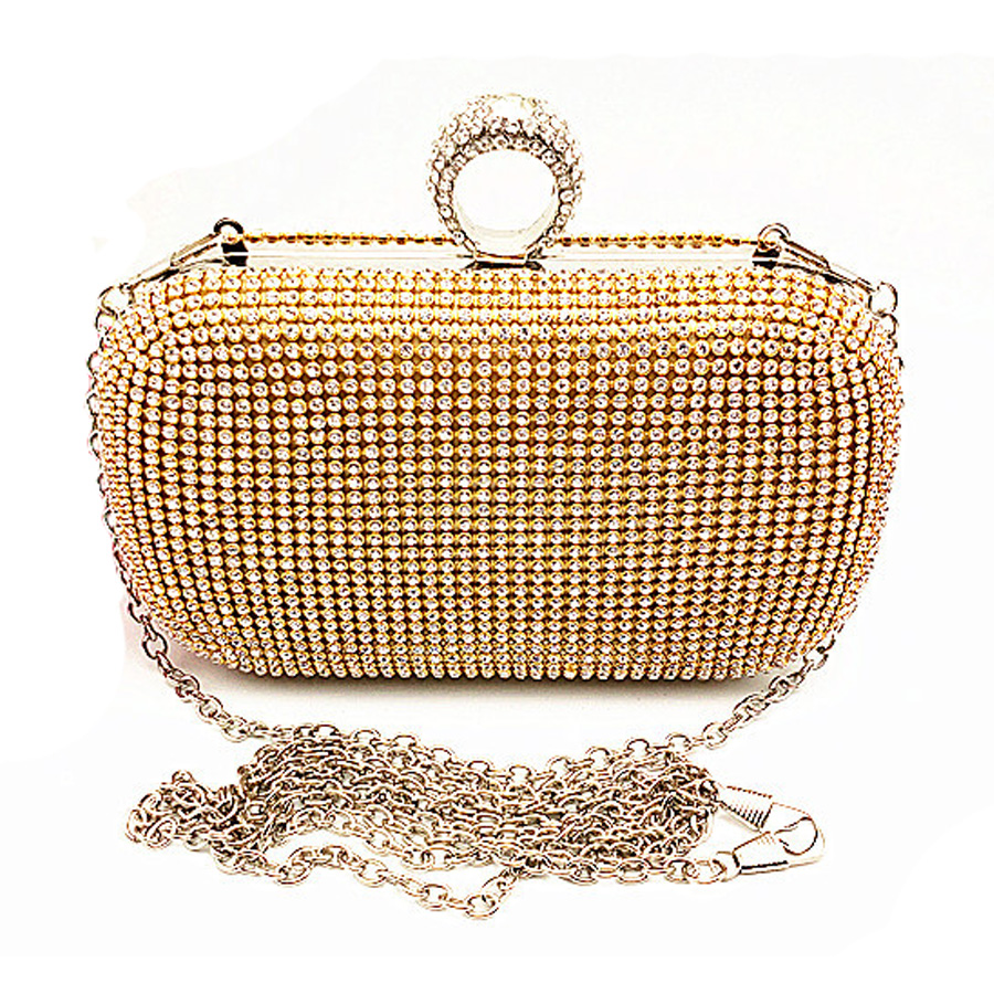 Evening Bag Evening Clutch Bags Diamond-studded With Chain Shoulder Bag Women's Handbags Wallets Evening Bag For Wedding