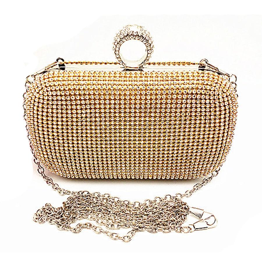 Evening Bag Evening Clutch Bags Diamond-studded With Chain Shoulder Bag Women's Handbags Wallets Evening Bag For Wedding