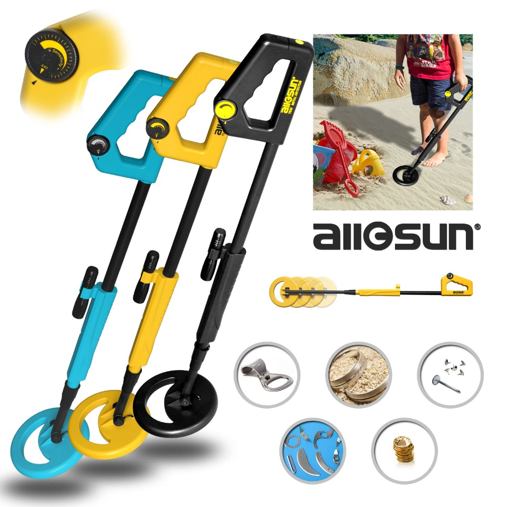 Underground Metal Detector Treasure Hunter Gold TS20 for Kids as Children's Day Gift Toy with High Sensitivity  Adjustable Shaft high quality underground highly sensitive metal detector md3010ii for gold hunter