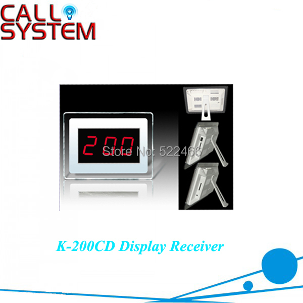K-200CD RECEIVER Wireless Table Number Calling System