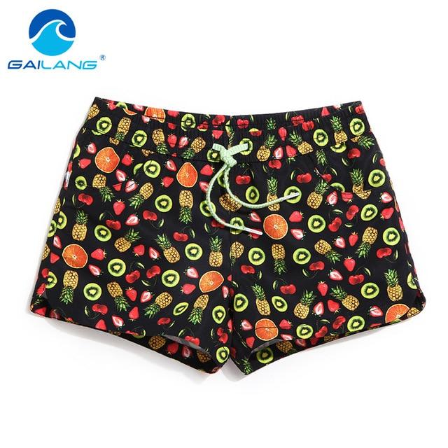 Gailang Brand Summer Quick Dry Women Shorts Woman Shorts Casual Swimwear Swimsuits Shorts Hip Hop Board Shorts Bermuda