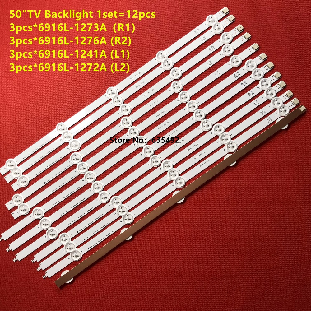 New 12Pieces LED Backlight For LG 50