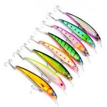 Y278 free shipping Road sub-bait 11cm / 13.4g Luya fish bait Mino plastic blackfish will kill bait Fishing Lures 8pcs/lot