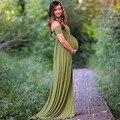 Puseky платье для беременных фотосессии платье макси для беременных с разрезом спереди для беременных свободное сексуальное платье для берем...