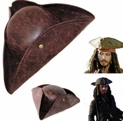 Detail Feedback Questions about Fuax Leather mens pirate hat caribbean  pirate hat halloween pirate hat costumes accessories halloween cap on  Aliexpress.com ... fd93fef4bd75