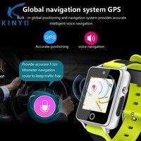 2018 smartwatch gps глобальной навигационной умные часы новое поколение смартфон часы Android app установки pk KW88 kw89