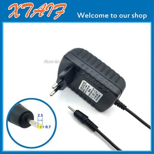 Image 1 - 9V 2.5A Wall Home Charger EU Plug for PiPo M2 M3 M6 Pro M6 M8 3G Tablet Power Supply Adapter DC 2.5x0.7mm / 2.5*0.7mm