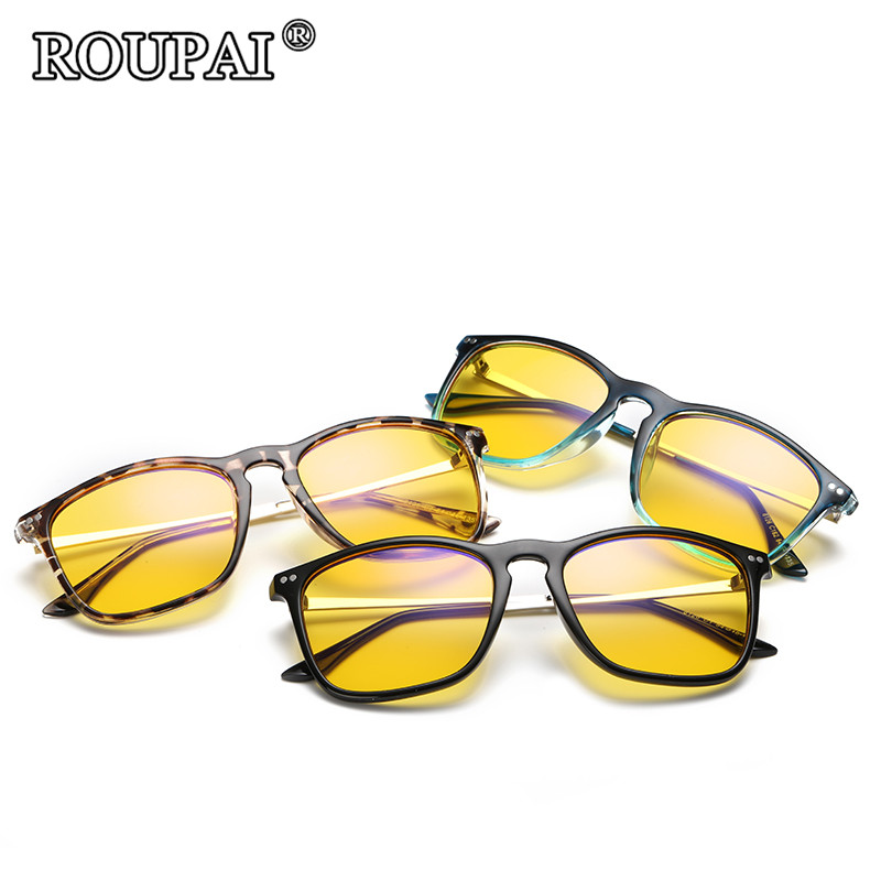 ROUPAI 2017 New Fashion Computer Eyewear Glassess Anti Radiation and Anti Blue Rays Gaming Glasses Goggles Computer Glasses