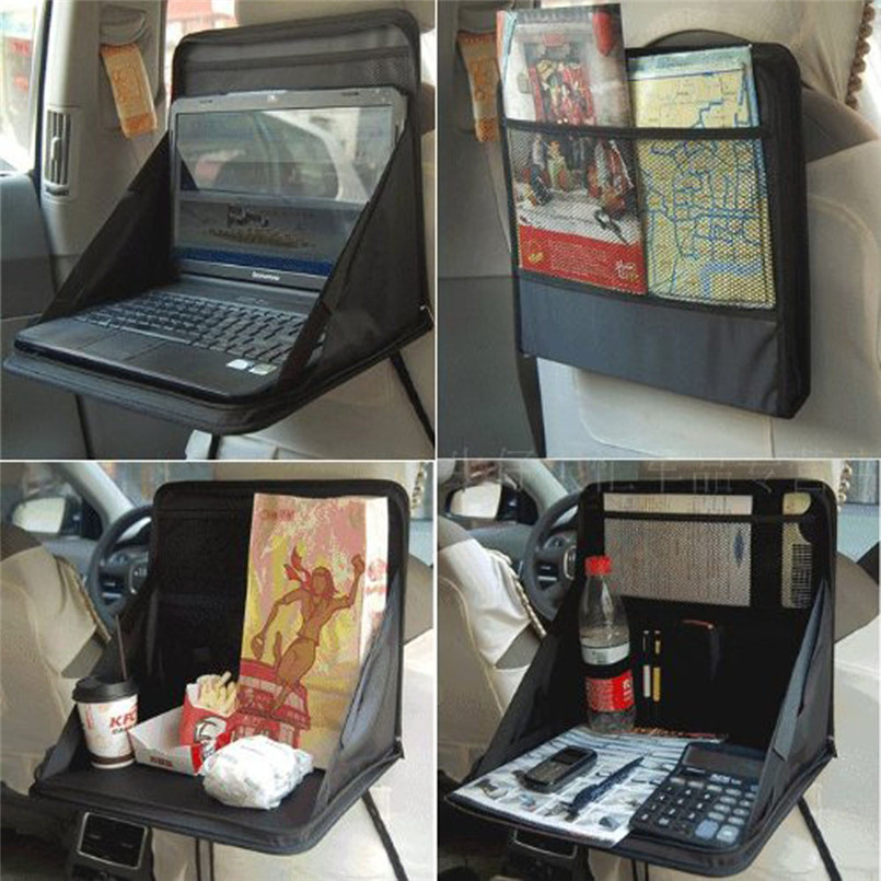 Car Seat Toy Holder : Car seat laptop tray table food holder storage