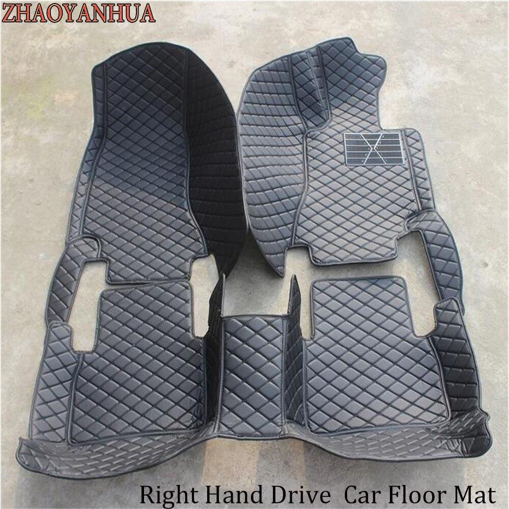 ZHAOYANHUA Car floor mats for Kia Rio K2 Spectra Cerato Forte K5 Optima K3 KX3 Sportage kx5 Sorento 5D car-styling carpet linersZHAOYANHUA Car floor mats for Kia Rio K2 Spectra Cerato Forte K5 Optima K3 KX3 Sportage kx5 Sorento 5D car-styling carpet liners