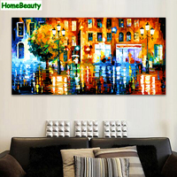 Home Beauty 50 100 Large Diy Oil Picture By Numbers Modular Canvas Painting For Living Room