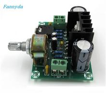 Placa amplificadora de áudio mono, XH M551, placa de amplificador de áudio tda2030a, placa amplificadora de 18w dc/ac12v