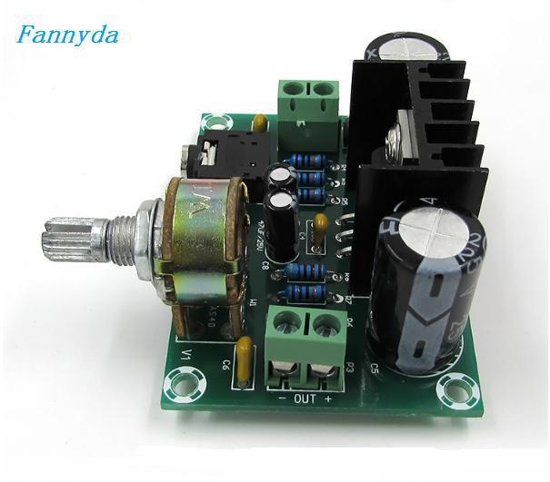 XH M551 モノラルチャンネルアンプボード、 TDA2030A オーディオアンプボード、 18 ワットアンプボード DC/AC12V