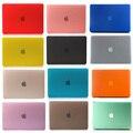 Матовая Поверхность Матовая жесткий Чехол Чехол Для Macbook Air 11 13 Pro 13 15 Retina 12 13 15 дюймов Ноутбук сумка для Mac Book pro 13 случае