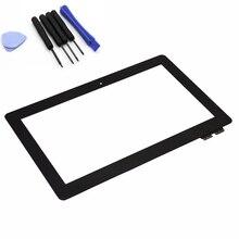 Original para Asus Transformer Book T100 T100TA táctil de cristal digitalizador de pantalla táctil de la tableta del Panel fp-tpay10104a-02x-h, envío gratis