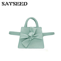 Za Same Bow Girl Bag Girl Small Fresh Korean Version of Joker Shoulder Messenger Bag