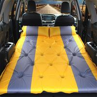 SUV Car Camping Air Mattress Auto Blow Up Bed Inflatable Mattress Raised Airbed Car Bed Air Mattress Colchon Inflable Car Mattre