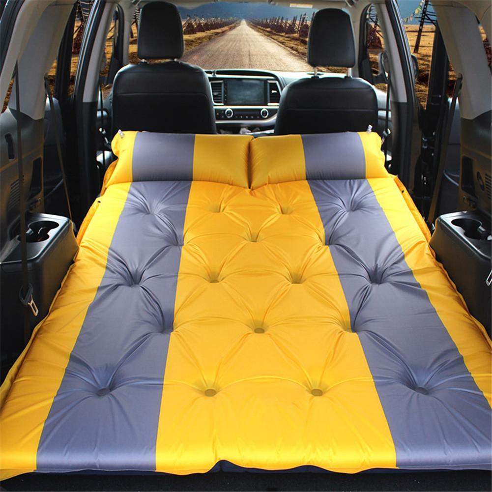SUV voiture Camping Air matelas Auto sauter lit matelas gonflable surélevé Airbed voiture lit matelas pneumatique Colchon gonflable voiture Mattre