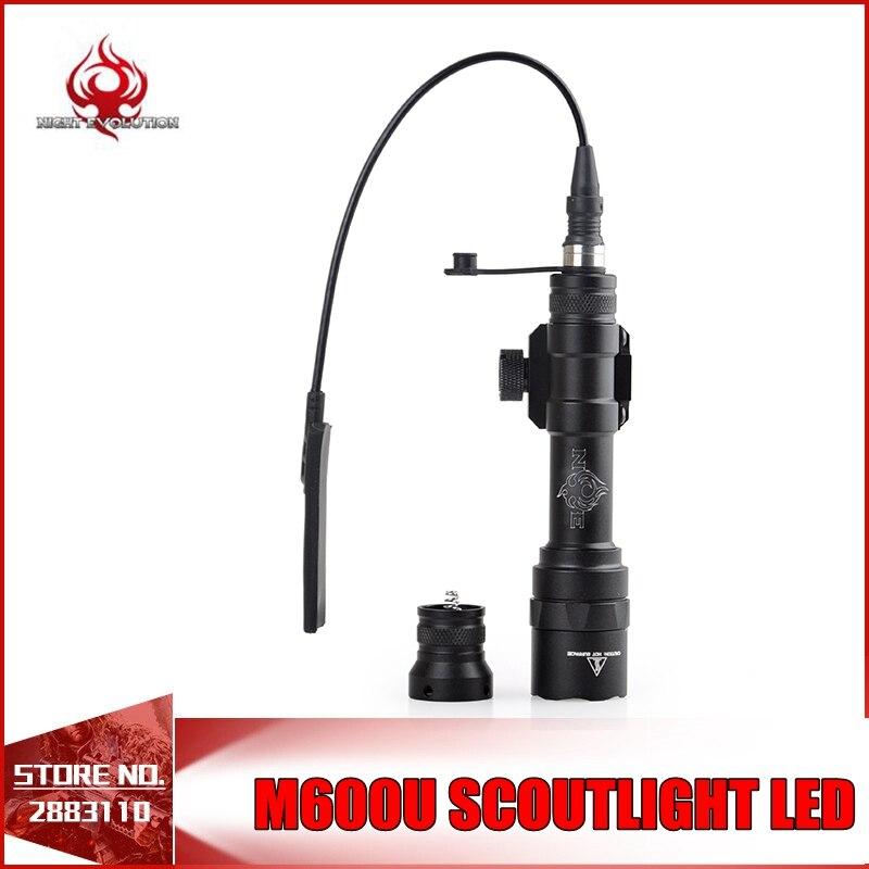 Night Evolution Airsoft Light M600U Scout Tactical Flashlight LED Full Version NE04025