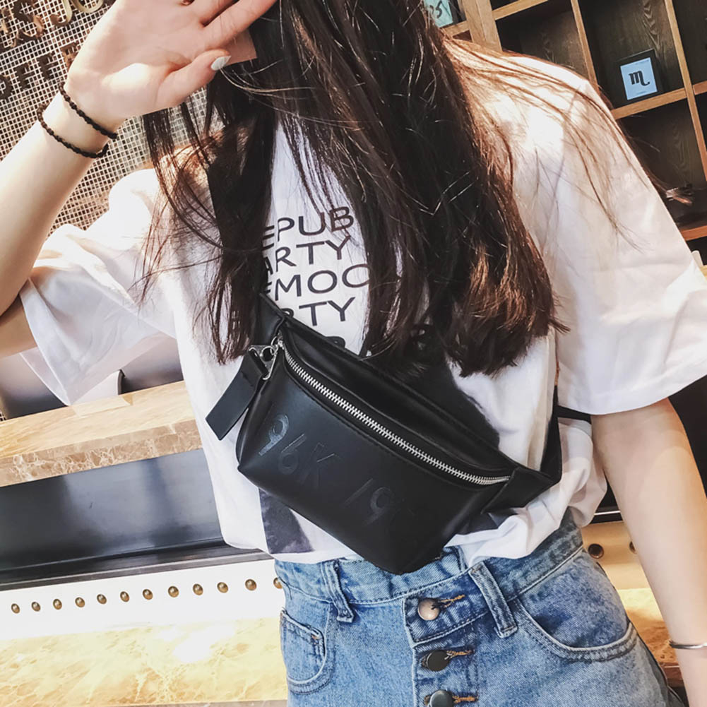Men Women Fashion Waist Packs Unisex Solid Color Zipper Bag Women Versatile Sport Waist Bag Wild High Quality Crossbody Bag 2019 In Pain Engagement & Wedding