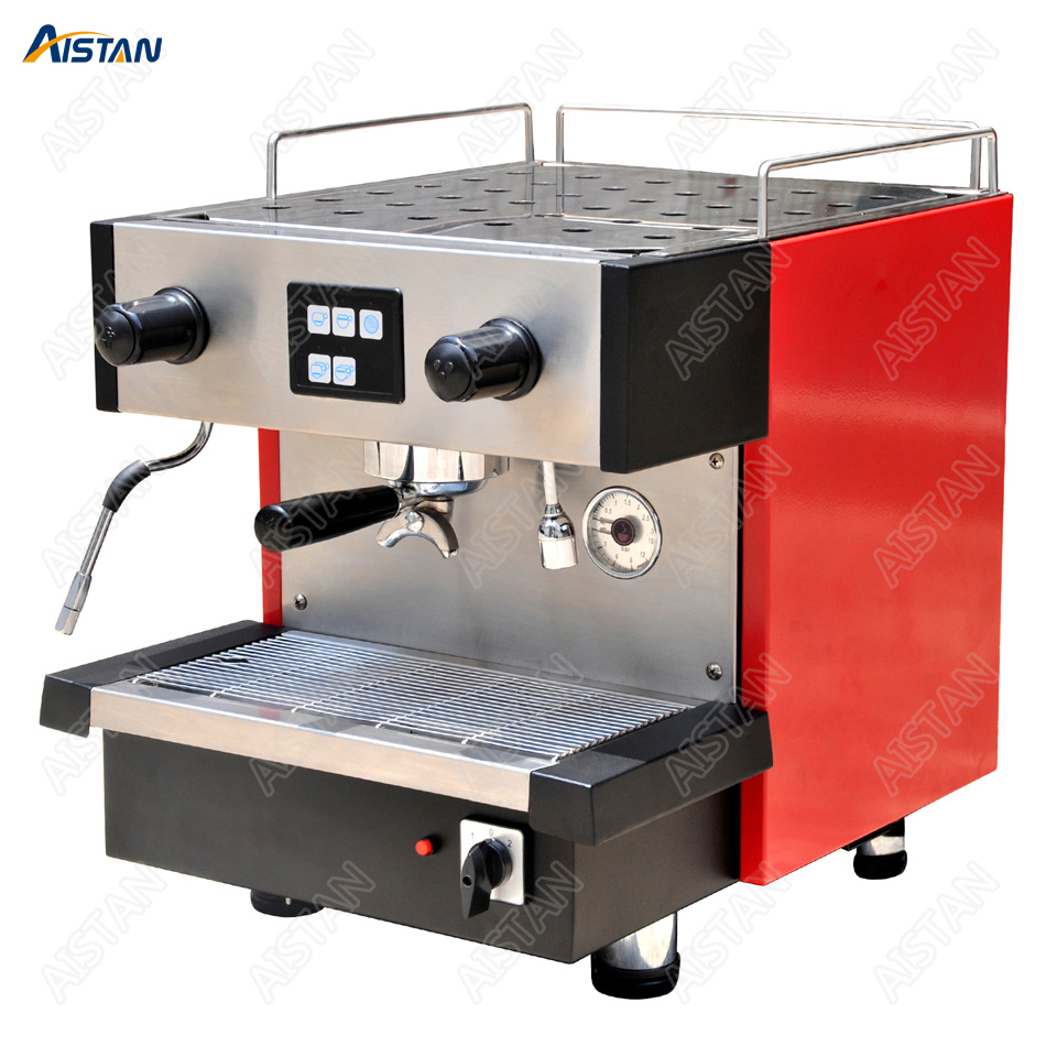 KT61 Electric Semi Automatic Coffee Maker Machine Italy Stainless Steel Professional Espresso Cappuccino