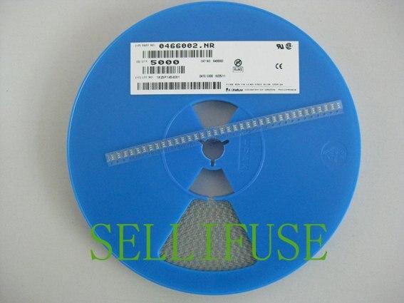 Littelfuse 0466002 SMD предохранителя 1206 2a63v очень быстро действия тонкий-Плёнки предохранитель slimllne свинца галогенов rohs
