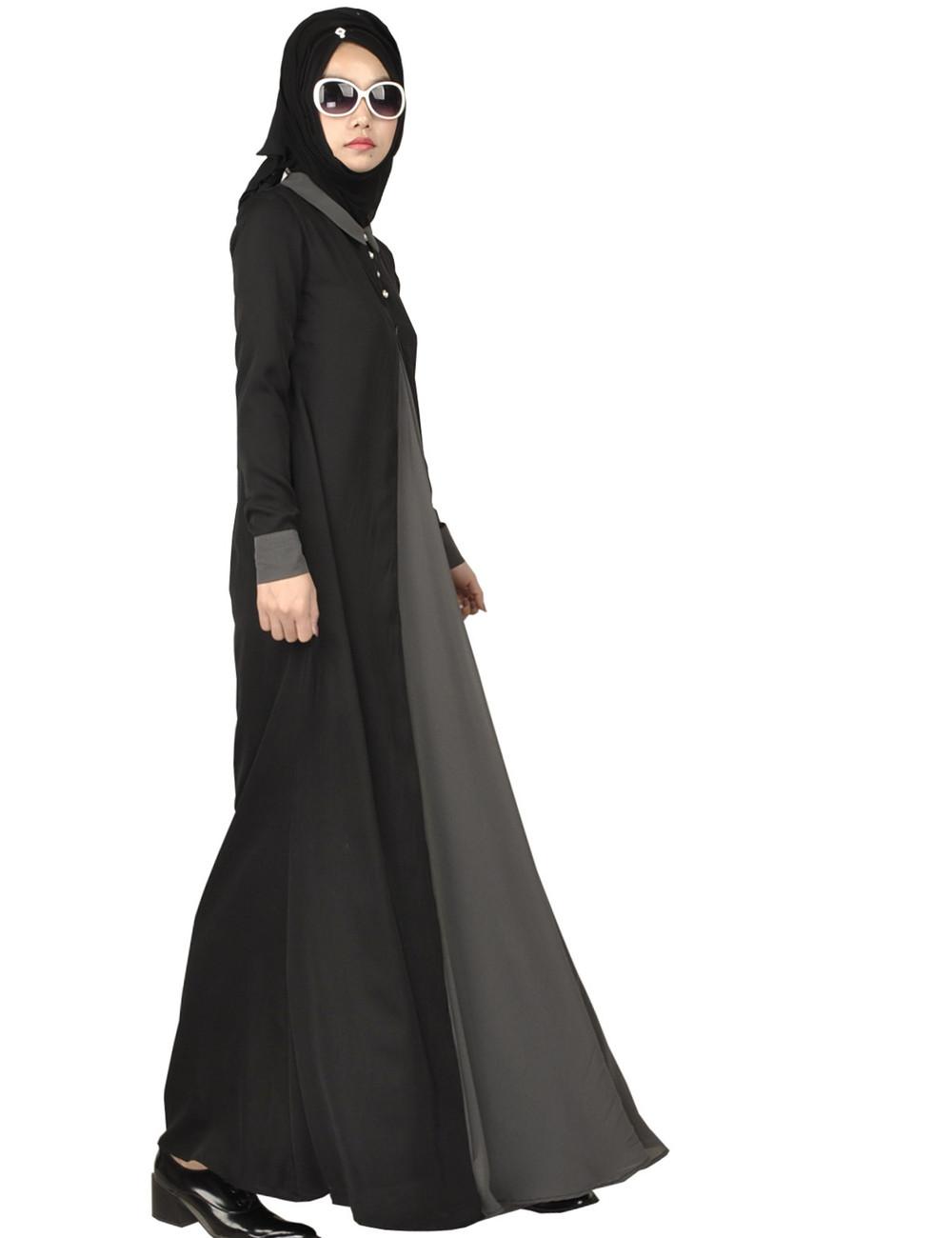 Longue robe Femmes Malaisie abayas Musulmanes