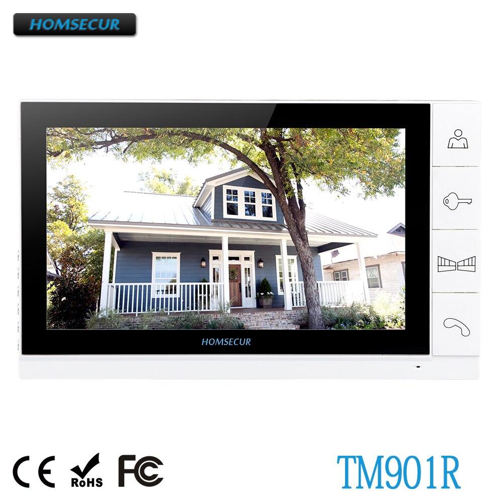 RüCksichtsvoll Homsecur Tm901r Monitor Dp-998r Für Tongwei Video Tür Telefon äRger LöSchen Und Durst LöSchen Türsprechstelle