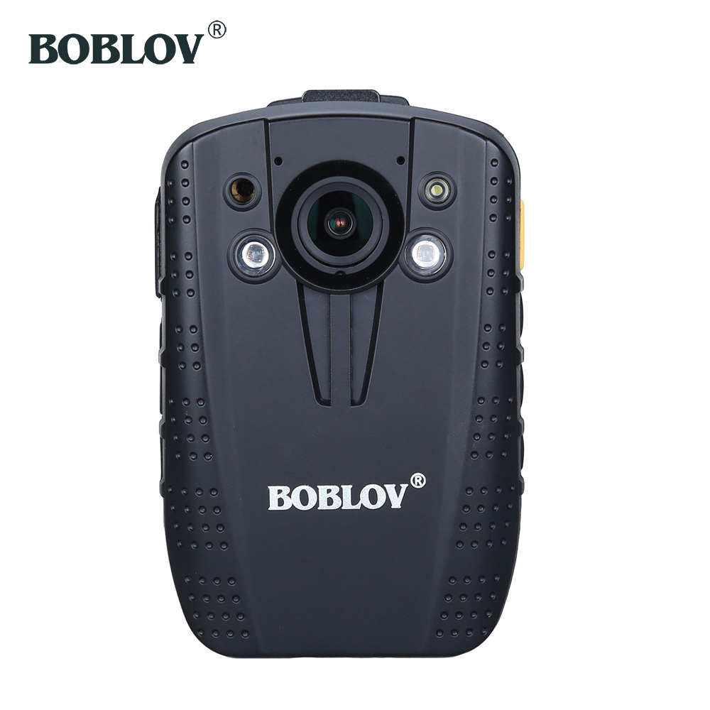 BOBLOV HD31-G AIT Chip 14MP HD 1296P 30fps Police Law Enforcement Audio Video Recorder Mini Night Vision 140 Degree Body Camera