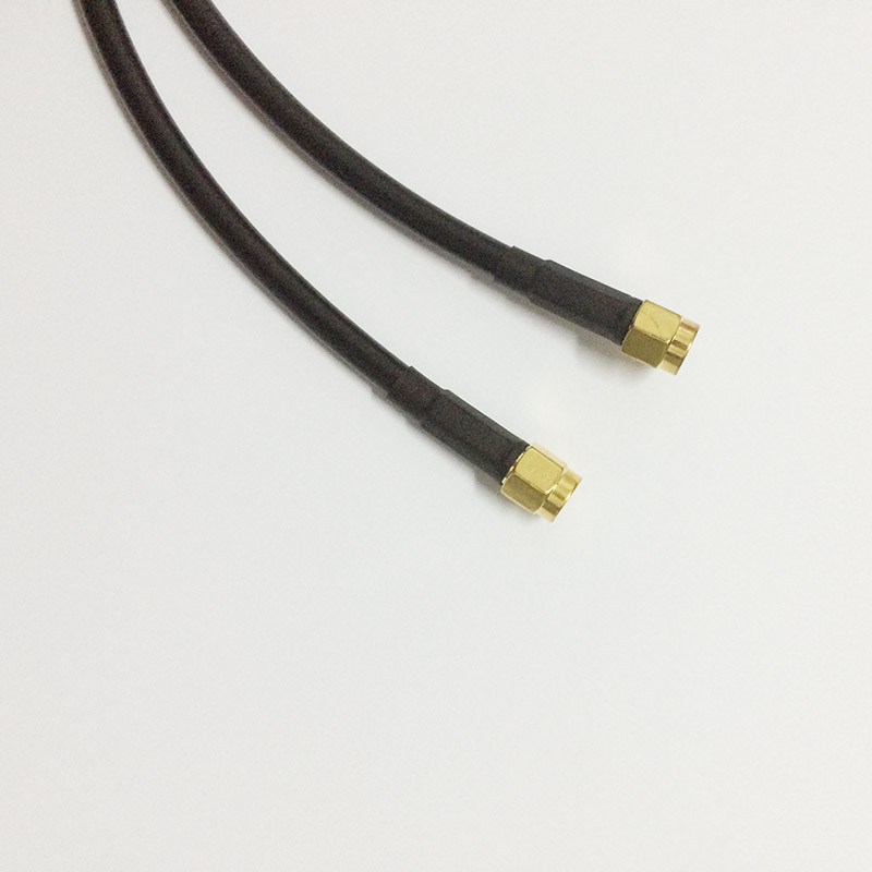 ALLISHOP RP-SMA Male to SMA Female Connectors 3M WiFi Wireless Antenna Extension Cable LMR195 allishop 1pcs sma male to rp sma female rf connector pigtail cable lmr195 25m