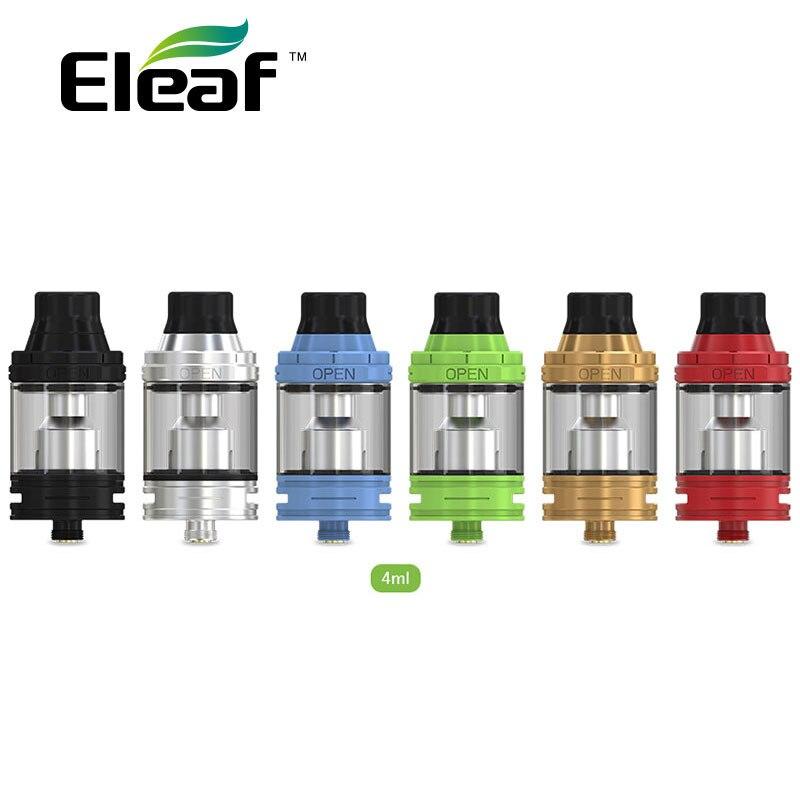 Original Eleaf ELLO Atomizer 4ml Eleaf ELLO Tank Capacity w/HW Coil Match Eleaf iKonn 220 Box MOD Eleaf ELLO Vape 25mm Vaporizer