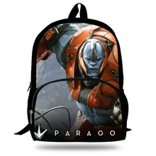 2018 Newest Mochila School POP PC GAME PARAGON Character Printing Children School Bags Boys Teenage Girls Casual Backpacks 2018 newest backpack overwatch hot pc game trecer reaper printing children school bags boys teenage girls casual backpacks