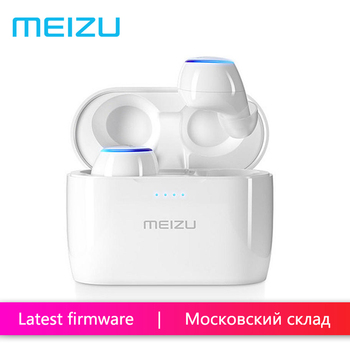 MEIZU POP TWS50 Wireless Bluetooth Earphone In-ear Earbuds Earphone Touch Stereo Waterproof Sports - White buddhist rope bracelet