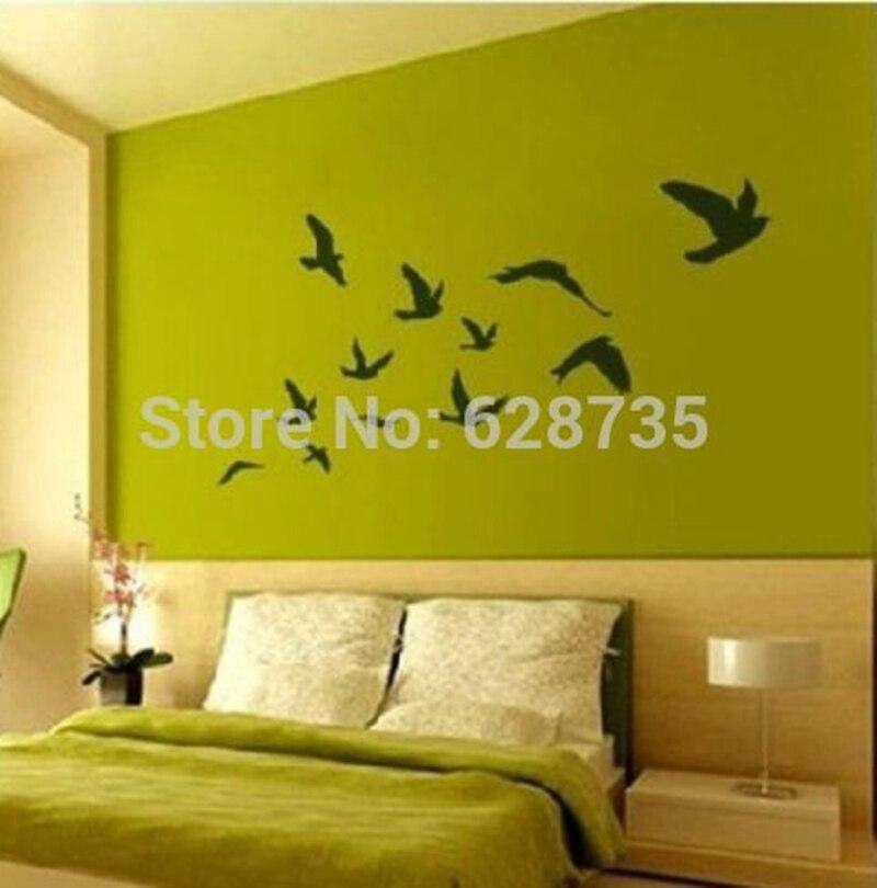 Popular Bird Wall Decal Buy Cheap Bird Wall Decal Lots