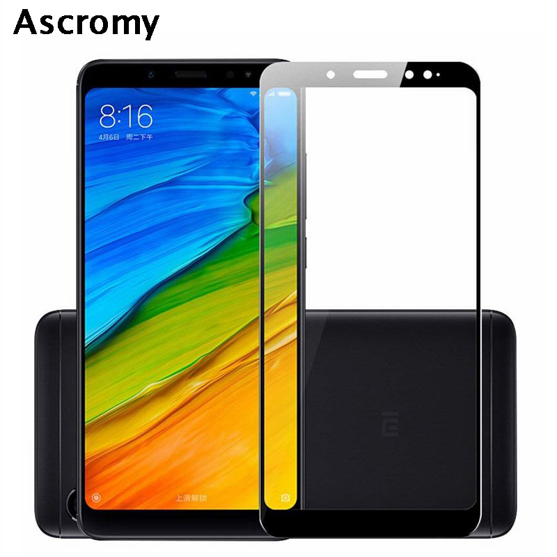 ascromy 5d full cover tempered glass film for xiaomi redmi. Black Bedroom Furniture Sets. Home Design Ideas